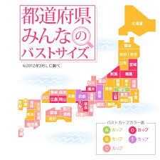Gifu Kyoto Rack Up Highest Averages In Japanese Boob Size