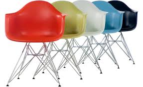 eames® molded plastic armchair with wire base  hivemoderncom