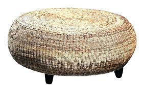 round wicker coffee table wicker coffee table ottoman coffee wicker coffee table lovely wicker ottoman round