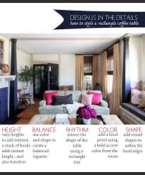 Style Coffee Table How To Style A Rectangle Coffee Table The Anatomy Of Design