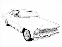 Small Picture Printable 51 Cool Car Coloring Pages 7866 Muscle Car Coloring
