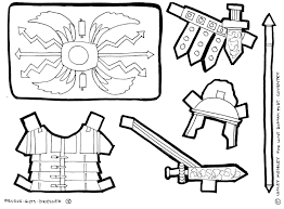 Roman Soldier Coloring Page Armor Drawing Pinterest Hoofardus
