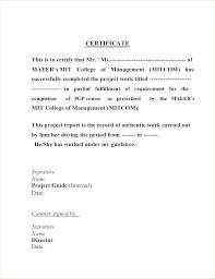 Work Completion Certificate Sample Jasonwang Co