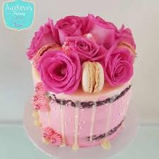 Floral Buttercream 40th Birthday Cakes Zuccheros