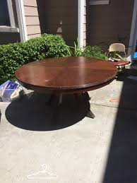 60 inch round dining table central legs furniture in pacifica ca offerup