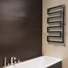 Hot water towel radiator / electric / steel / chrome - SERA