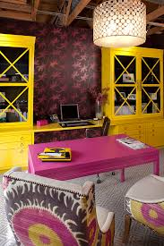 yellow office decor. Artistic Designs For Living Yellow Office Decor