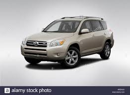 2006 Toyota RAV4 Limited in Beige - Front angle view Stock Photo ...