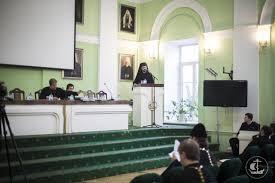 Защита кандидатской диссертации иеродиакона Владимира Палибрка  В Академии успешно защищена кандидатская диссертация Соискатель