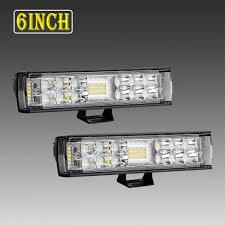 6 Inch Led Work Light Details About 2pcs 6inch Led 12v Work Light Spot Flood Driving Fog Lamp Bar Car Suv Off Road