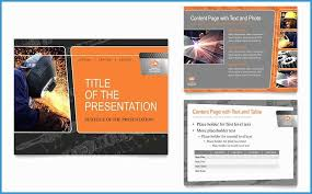 powerpoint brochure template free ppt brochure templates free unique manufacturing engineering