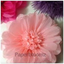 Tissue Paper Flower Decorations Paperbloomz Large Paper Flower Pink Tissue Paper Flowers Wall