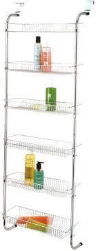 over the door storage rack with baskets six shelf over door pantry glee manufacturer over the door storage rack with baskets