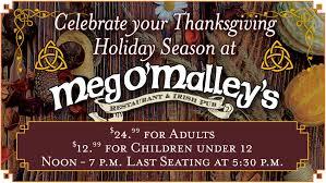 Meg Omalleys Thanksgiving Buffet Meg Omalleys
