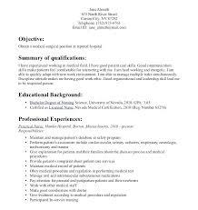 New Grad Rn Resume Sample Nurse Templates Nursing Assistant Format