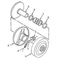 Comet 40 44 Series Torque Converter System Symmetrical For
