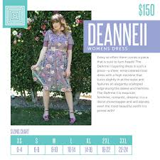 Deanne Skirt Size Chart Lularoe Deanne Ii Dress Sizing Www Shopwithmandyvignoli Com