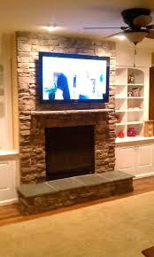 mounting tv on brick fireplace mounting above fireplace be equipped