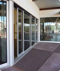 commercial glass sliding doors