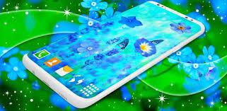 <b>Blue Flowers</b> Live Wallpaper Flower 4K Wallpaper - Apps on Google ...