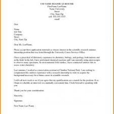 Example Letter Of Application Internship Valid Cover Letter Examples