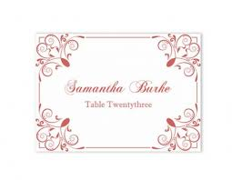 Download Place Cards Wedding Place Card Template Diy Editable Top