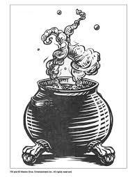 Harry Potter Cauldron Coloring Page Source