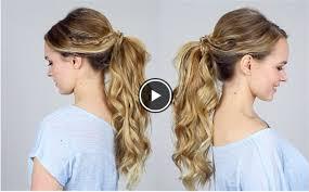 ポニーテール アレンジ 簡単自分でできる結婚式の髪型の人気動画をご紹介