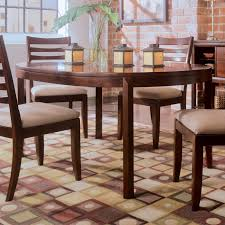 American Drew Coffee Table American Drew 912 701 Tribecca Round Leg Table In Root Beer