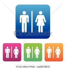 Male Female Bathroom Symbols Custom Decorating Design