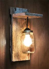 rustic wooden light fixtures best wall lighting ideas on reclaimed wood regarding incredible property sconce fixture57