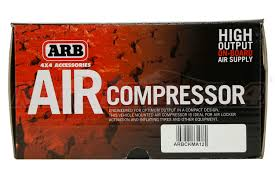 arb compact high output onboard air compressor ckma arb compact high output onboard air compressor part number ckma12
