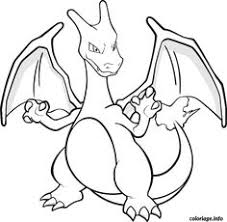 Small Picture Pokemon coloring pages Charizard Coloring Pictures Pinteres