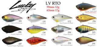 Crankbait Color Chart Lucky Craft Lv Rto