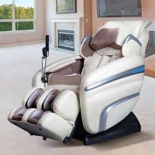 massage chair for home. osaki tan faux leather reclining massage chair for home