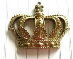 crown wall decor gold crown wall decor 4 shining design princess nursery hanging metal crown crown wall decor