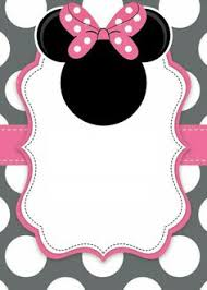 Minnie Mouse Blank Invitation Template 8 Best Allison Birthday Images