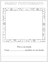 Small Picture All About Me Coloring Page Family Coloring Home