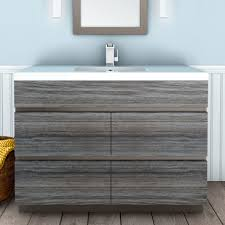Driftwood Bathroom Vanity Cutler Kitchen Bath Boardwalk 48 Single Bathroom Vanity Set