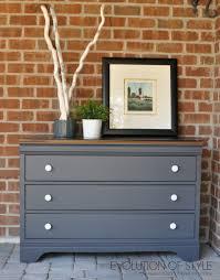 dresser in queenstown gray milk paint