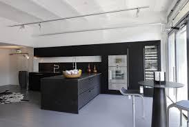 Black White And Grey Kitchen Its A Black White Decision Ktchn Mag