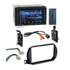 planet audio car stereo 2 din dash kit wire harness for 2002 04 main image