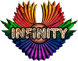infinity band. hi-res logo infinity band