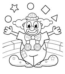 Small Picture Clowns Coloring Pages GetColoringPagescom