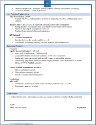 23 terrific resume format for diploma freshers mba freshers resume format
