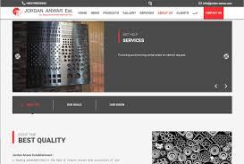 Web Design Company In Jordan Jordan Anwar A Web Design Project By Kensoftware