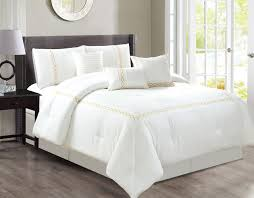 home inspiration likeable white comforter set in copper grove burwell free today white