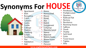 Design Synonym Synonyms For House English Study Here