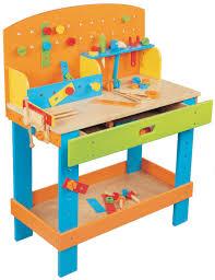 enlarge view wooden toy preschool work bench