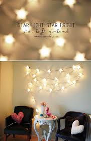 diy bedroom lighting ideas. String Lights Are Great For Your Room. You Can Hang Them On The Wall, Or If Can\u0027t Manage To Do That, Drape Around Something. Diy Bedroom Lighting Ideas D